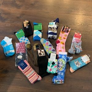 15 Pair Sock Bundle